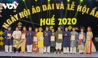 Abschluss des Festivals der Tracht Ao Dai und der Küche von Hue 2020