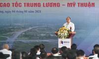 Premierminister Nguyen Xuan Phuc erteilt Befehl zum Baubeginn der Autobahn My Thuan – Can Tho