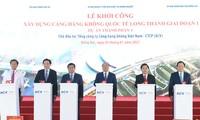 Der Flughafen Long Thanh soll zur Entwicklung Vietnams beitragen