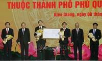 Veröffentlichung der Entscheidung zur Gründung der Stadt Phu Quoc