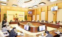 Parlamentspräsidentin Nguyen Thi Kim Ngan leitet 2. Sitzung der nationalen Wahlkommission