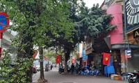 Hanoi wird im Vorfeld des 13. Parteitags mit Nationalflaggen geschmückt