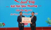 Geschenke an Arbeitnehmer zum Tetfest in Hai Phong