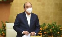 Premierminister Nguyen Xuan Phuc: Epidemieorte können soziale Distanzierung durchführen