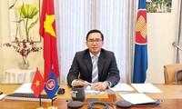 Botschafter Tran Duc Binh tritt offiziell sein Amt als stellvertretender Generalsekretär der ASEAN an