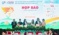 Mehr als 4500 Menschen nehmen an der Marathonnationalmeisterschaft Tien Phong Marathon teil