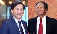 Der Premierminister legt dem Parlament die Ernennung von zwei stellvertretenden Premierministern zur Genehmigung vor