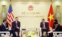 Minister für öffentliche Sicherheit To Lam empfängt US-Botschafter in Vietnam, Daniel Kritenbrink