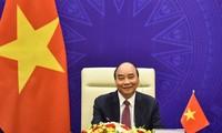 Staatspräsident Nguyen Xuan Phuc nimmt an der Eröffnungszeremonie des Weltklimagipfels teil