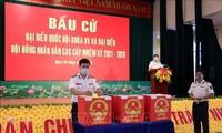 Frühzeitige Stimmabgabe für Wahlen des Parlaments und der Volksräte in Ba Ria-Vung Tau
