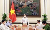 Staatspräsident Nguyen Xuan Phuc leitet Sitzung zur Bewertung des Begnadigungsgesetzes von 2018