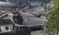 Wrack des Bombers B52 an Gedenkstätte des Huu Tiep-Sees in Hanoi soll geborgen werden