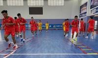 Futsal-Mannschaft versammelt sich für FIFA Futsal World Cup 2021