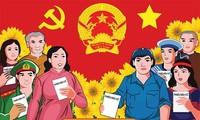 Wählen ist heiliges Recht und Pflicht der vietnamesischen Bürger