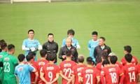 Vietnams Fußballmannschaft hat ein Freundschaftsspiel mit Jordanien im Vorfeld der WM-Qualifikationsrunde