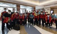Vietnams Futsal-Mannschaft ist in den Vereinigten Arabischen Emiraten eingetroffen