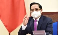 Premierminister Pham Minh Chinh nimmt an der Konferenz zur Zukunft Asiens teil