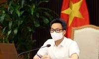 Ausrüstungen und Biopharmazeutika für Tests in Bac Ninh und Bac Giang bereitstellen