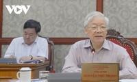 KPV-Generalsekretär Nguyen Phu Trong fordert intensivere Bekämpfung der Covid-19-Epidemie