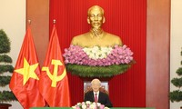 KPV-Generalsekretär Nguyen Phu Trong führt Telefongespräch mit dem sri-lankischen Präsidenten