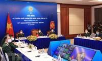 15. Online-Konferenz der ASEAN-Verteidigungsminister