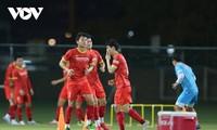 Qualifikationsrunde der WM 2022: Vietnams Mannschaft ist bereit für das Spiel gegen VAE