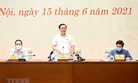 Parlamentspräsident trifft Pressebehörden