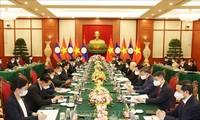 Aufrechterhaltung und Entwicklung der besonderen Beziehungen zwischen Laos und Vietnam