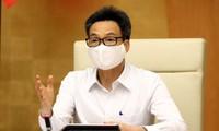 Vize-Premierminister Vu Duc Dam tagt mit Küstenprovinzen über die Epiedemiebekämpfung