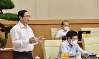 Regierungssitzung erörtert Maßnahmen zur sozioökonomischen Entwicklung in der zweiten Jahreshälfte
