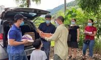 Unterstützung der von der Epidemie betroffenen Vietnamesen in Malaysia