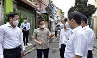 Vize-Premierminister Vu Duc Dam: Abstandhaltung hat die größte Priorität in Ho-Chi-Minh-Stadt