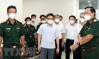 Vize-Premierminister Vu Duc Dam: Mobilisierung aller Ressourcen zur Bekämpfung der Epidemie in Ho-Chi-Minh-Stadt