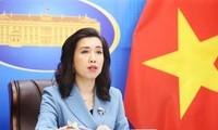 Vietnam beharrt auf den Standpunkt über die Ostmeer-Frage