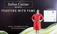 Frau Trang Le wird Botschafterin der italienischen Küche in Vietnam 2021