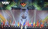 Das Team der vietnamesischen Volksarmee hinterlässt großen Eindruck bei Army Games 2021