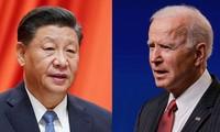 Chinas Staatspräsident Xi Jinping führt Telefongespräch mit US-Präsident Biden