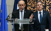Frankreichs Außenminister Le Drian: Frankreich und die USA brauchen Zeit, um das Vertrauen wiederherzustellen