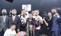 Boxerin Nguyen Thi Thu Nhi gewinnt WBO-Meisterschaft