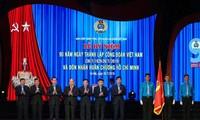베트남 노동 조합 설립 90 주년 기념 : 적극적인 근로자 보호 활동