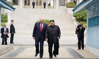 미 국방장관, 조선에 대한 제재 유지 강조