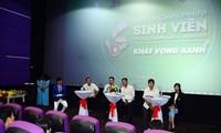 """호찌민시 학생 영화축제 """"녹색 갈망"""" 발족"""
