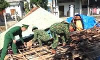 폭풍 홍수 피해의 긴급 복구로 민생 안전을 도모
