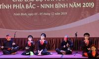 2019년 북쪽 지역 – 닌빈 썸 (Xẩm) 노래축제 개막