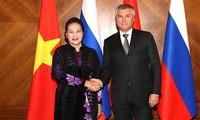 응우옌 티 낌 응언 국회의장, 러시아 공식방문 일정 지속