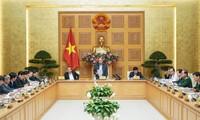 정부상임회의, 코로나19 예방 회의