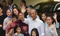 말레이시아 총리에 대한 당선 축하 인사