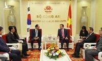 또럼 (Tô Lâm) 공안부 장관, 주베트남 한국대사와 회의