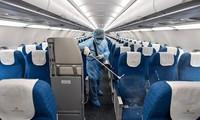 VN0054항공편 베트남 항공 승무원,코로나 19 바이러스 음성반응을 보였음