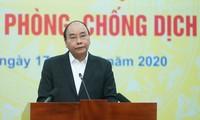 응우옌 쑤언 푹 총리, 코로나19방역을 위한 전국민 캠페인 발족식에 참가